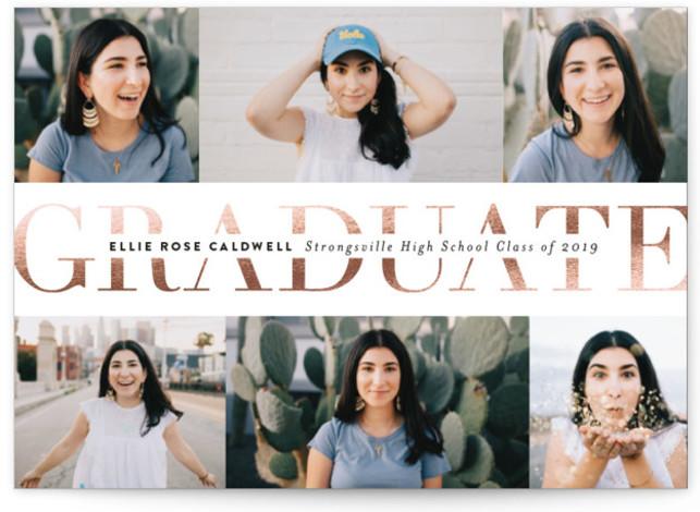 Pride And Joy Graduation Announcement Cards