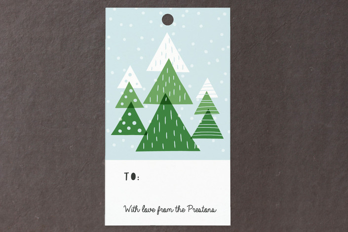 """""""Little Forest"""" - Gift Tags in Spruce by Sharon O.."""