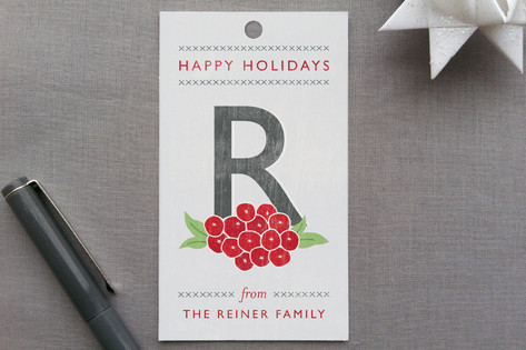 Weathered Berries Gift Tags
