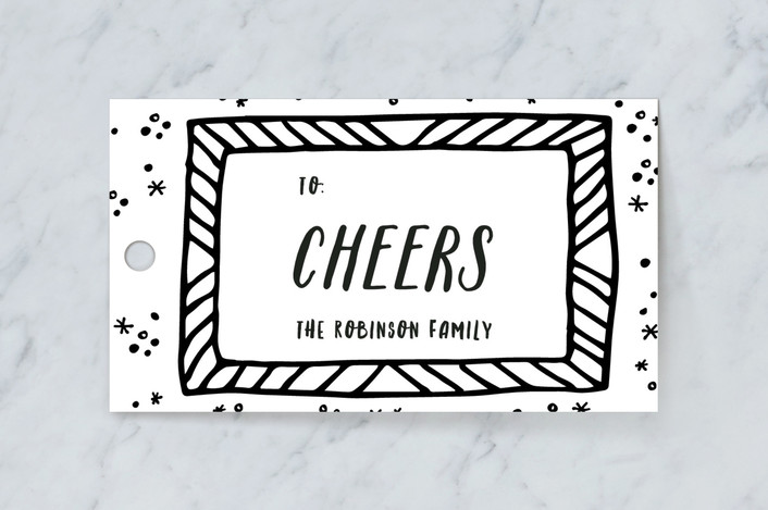 Funky frames Gift Tags by Creo Study | Minted
