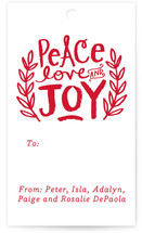 Peace Love and Joy Branches