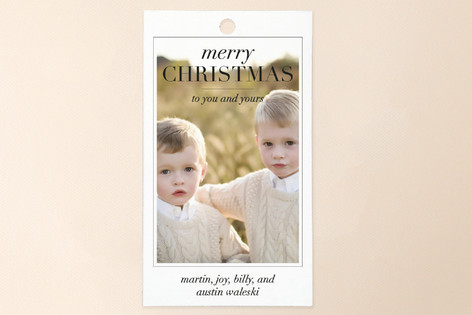 Editorial Gift Tags