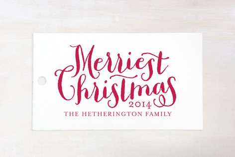 Merriest Gift Tags