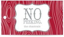 No Peeking Woodgrain