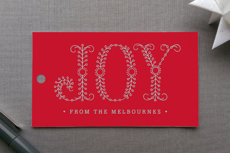 Decorous Joy Gift Tags