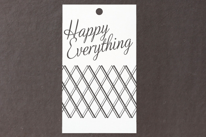 """""""Bright Elegance"""" - Modern, Traditional Gift Tags in Charcoal by Tim St. Clair."""