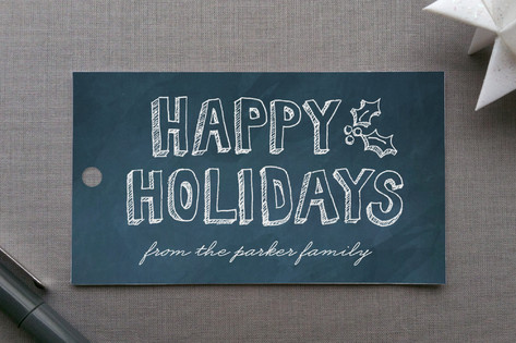 Hand Drawn Holiday Gift Tags