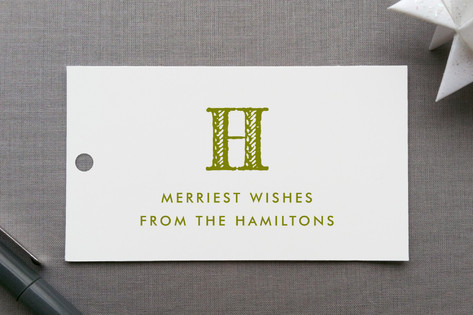 Oxford Gift Tags