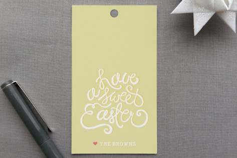 By Hand Gift Tags