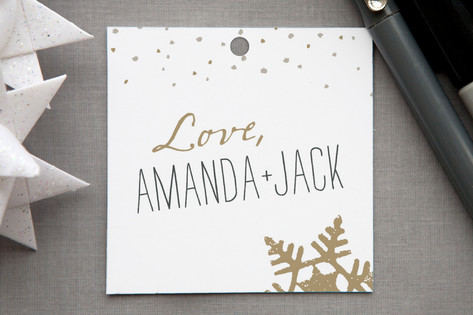 Silver and Gold Gift Tags