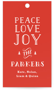 Vintage Type Gift Tags