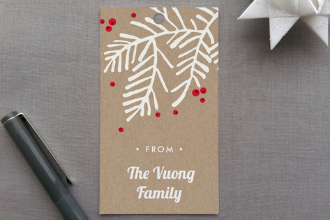 Krafty Holiday Gift Tags