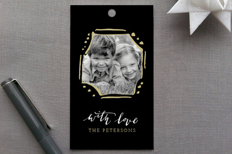 Calligraphy Love Gift Tags