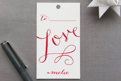 Love Wrap Gift Tags
