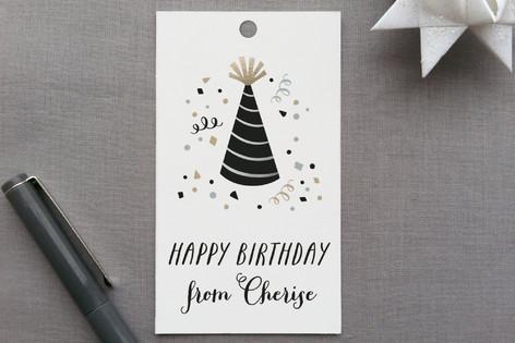 Birthday Confetti Gift Tags