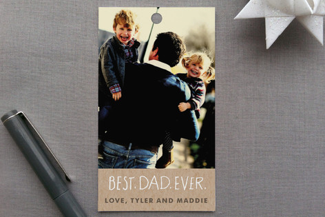 Best Dad Ever Gift Tags