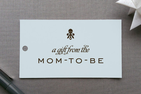 Petite Rattle Gift Tags