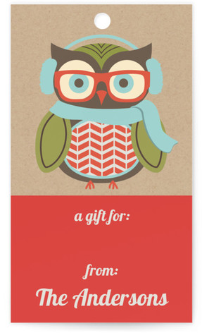 Happy Hipster Holiday Gift Tags