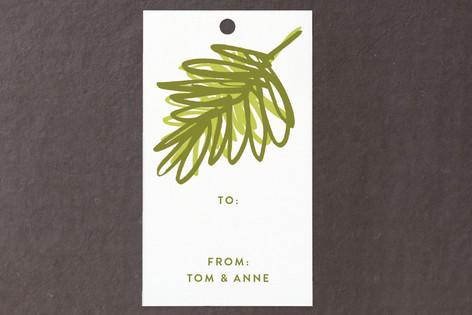 Evergreen Gift Tags