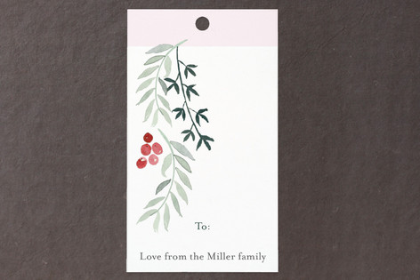 Delicate Leaves Gift Tags