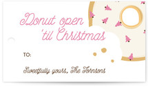 Donut Open 'Til Christmas