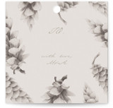 This is a grey gift tag by jinseikou called Kotte printing on signature.