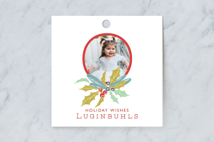 """""""Oh Big Holiday"""" - Gift Tags in Gum Drops by CaroleeXpressions."""