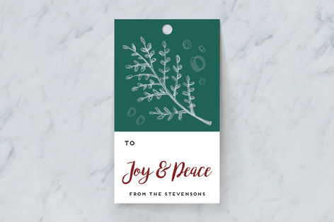 Forest Clippings Gift Tags