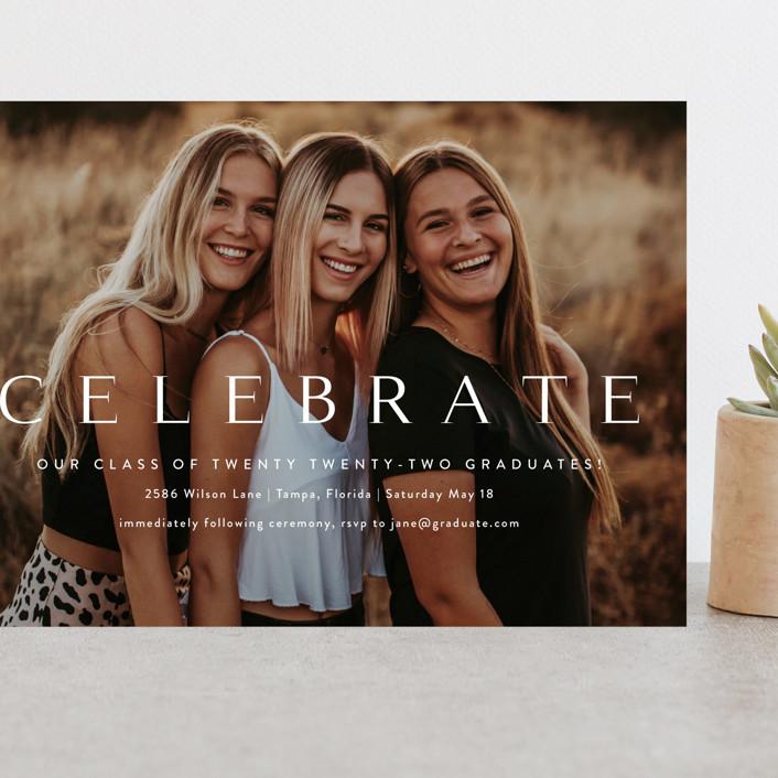 """Celebration"" - Grand Graduation Cards in Cotton by Kasia Labocki."
