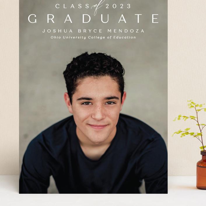 """Forward"" - Grand Graduation Cards in Chalk by Lea Delaveris."