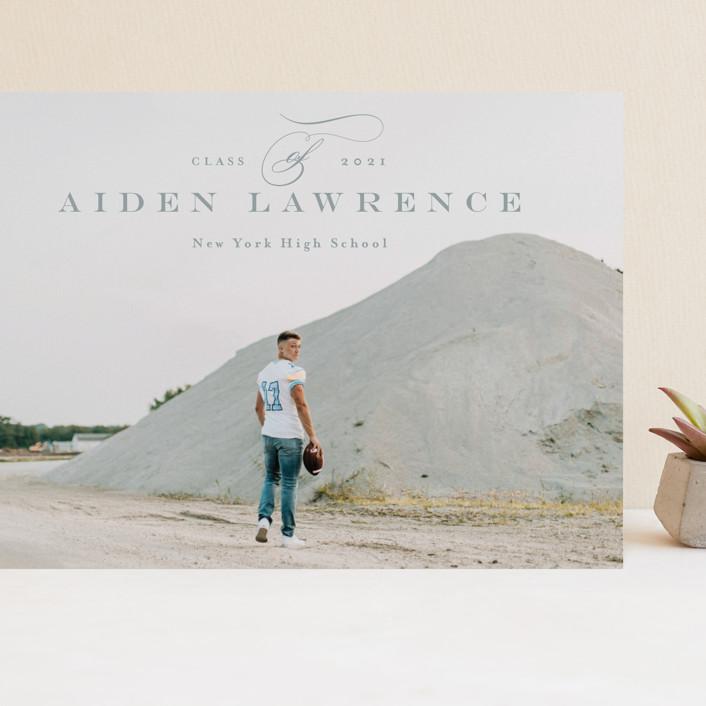 """Classy"" - Grand Graduation Cards in Dust by Anastasia Makarova."