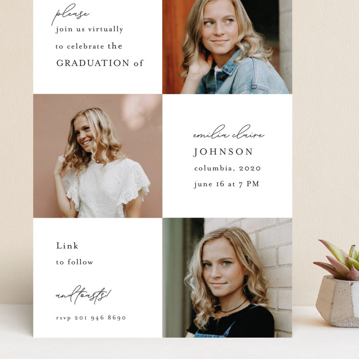 """""""Virtual Grad Night"""" - Grand Graduation Cards in Pearl by Chris Griffith."""