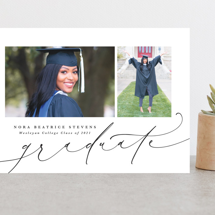 """DUO"" - Grand Graduation Cards in Penguin by Lea Delaveris."