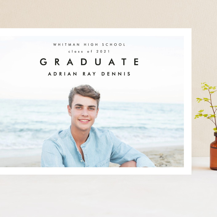 """""""Go Getter"""" - Grand Graduation Cards in Abyss by Kelly Stewart."""
