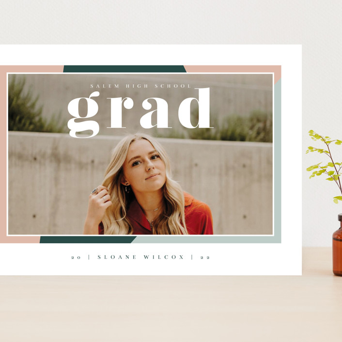 """""""Up Next"""" - Grand Graduation Cards in Sorbet by Danie Romrell."""