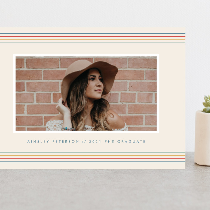 """Flash Back Grad"" - Grand Graduation Cards in Sand by Danie Romrell."