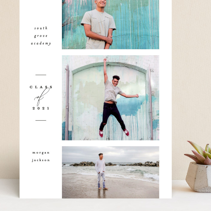 """""""Photo Reel"""" - Grand Graduation Cards in Cotton by Everett Paper Goods."""