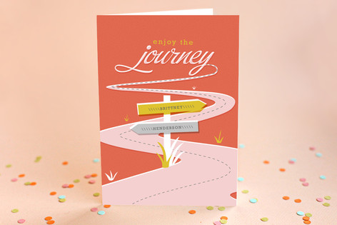 Enjoy the Journey Graduation Greeting Cards by Ser... | Minted