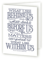 What Lies Within Us