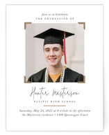 This is a white graduation insert card by Jennifer Postorino called Keepsake with standard printing on signature in standard.