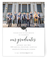 This is a white new by Sara Hicks Malone called Our Graduates with standard printing on signature in standard.