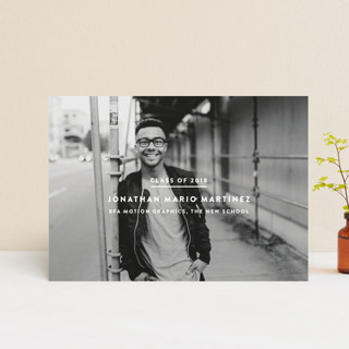Editorial Graduation Petite Cards