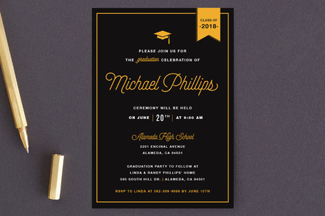 Party Graduation Graduation Petite Cards