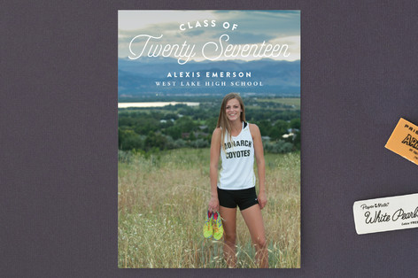 Follow Your Path Graduation Petite Cards