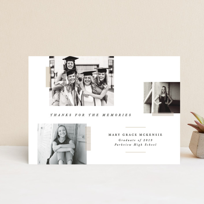"""""""Memory Book"""" - Graduation Petite Cards in Cotton by Bethany McDonald."""