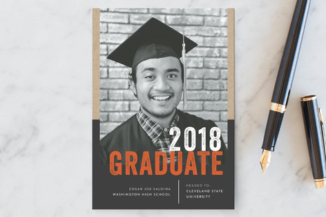 On Campus Graduation Petite Cards