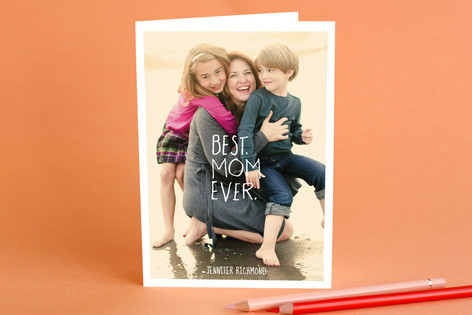 Best.Mom.Ever Mother's Day Greeting Cards