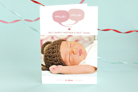 Ma Ma Mother's Day Greeting Cards