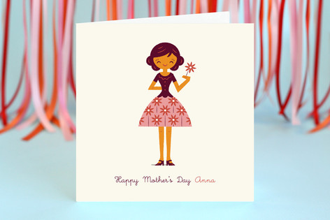Daisy Mother's Day Greeting Cards