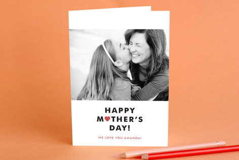 Simply the Best Mom Mother's Day Greeting Cards
